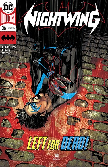 Nightwing Cover - 3/1/2018