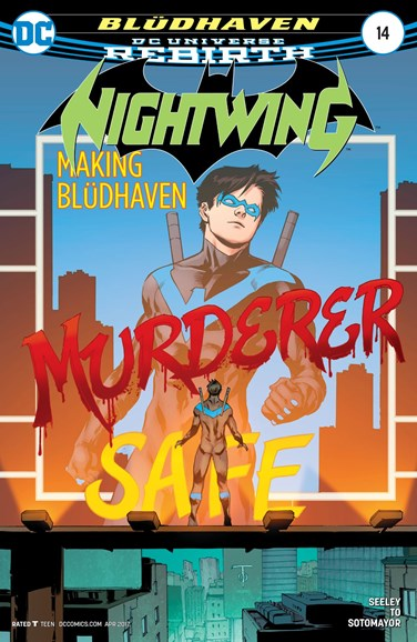 Nightwing Cover - 4/1/2017