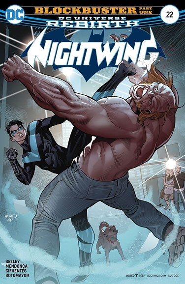 Nightwing Cover - 8/1/2017