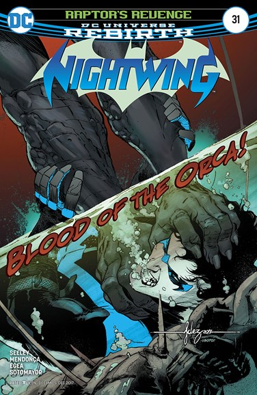 Nightwing Cover - 12/15/2017