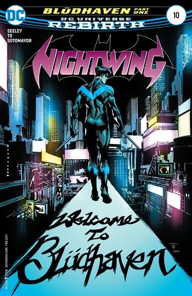Nightwing Cover - 2/1/2017
