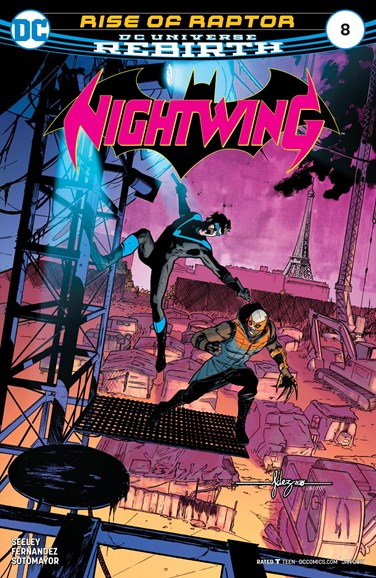 Nightwing Cover - 1/1/2017
