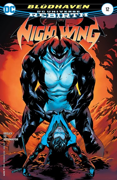 Nightwing Cover - 3/1/2017