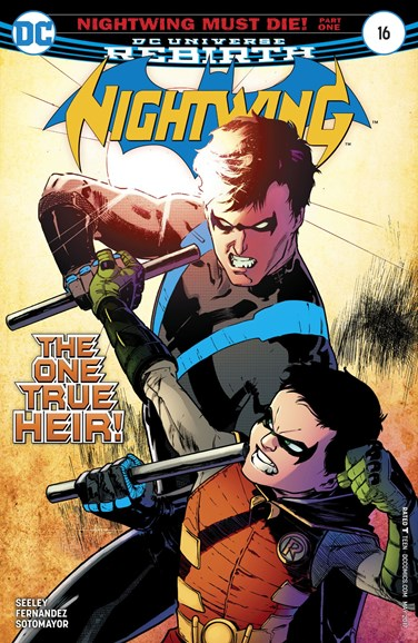 Nightwing Cover - 5/1/2017