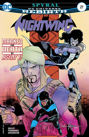 Nightwing Cover - 10/15/2017