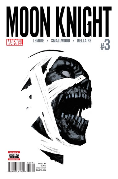 Moon Knight Cover - 8/1/2016
