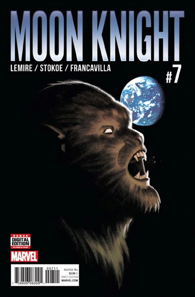 Moon Knight Cover - 12/1/2016