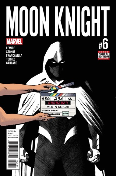 Moon Knight Cover - 11/1/2016