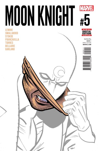 Moon Knight Cover - 10/1/2016