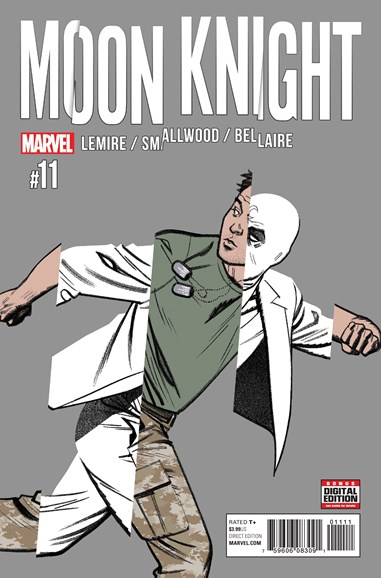 Moon Knight Cover - 4/1/2017