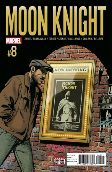 Moon Knight Cover - 1/1/2017