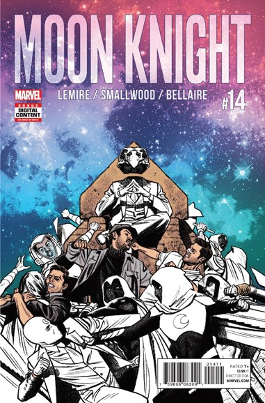 Moon Knight Cover - 7/1/2017