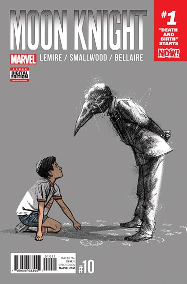 Moon Knight Cover - 3/1/2017