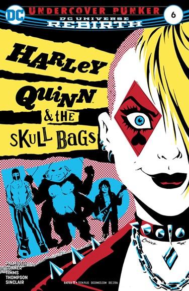 Harley Quinn Cover - 12/1/2016