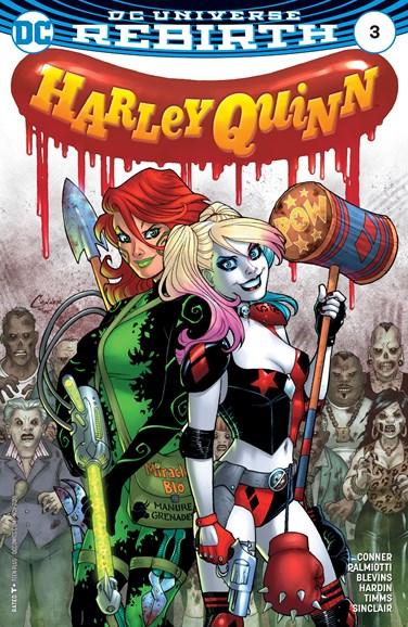 Harley Quinn Cover - 11/1/2016