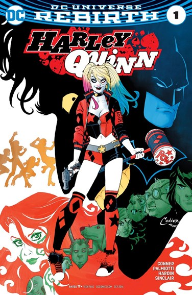 Harley Quinn Cover - 10/1/2016