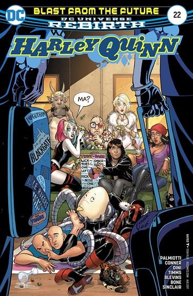 Harley Quinn Cover - 8/1/2017