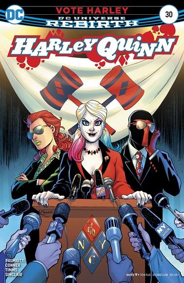 Harley Quinn Cover - 12/1/2017