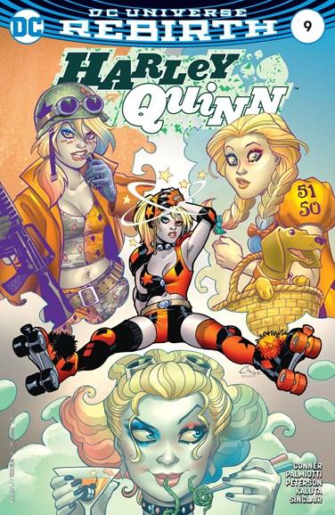 Harley Quinn Cover - 2/1/2017