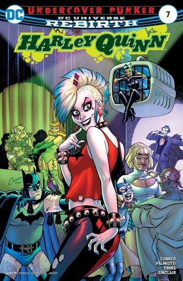 Harley Quinn Cover - 1/1/2017