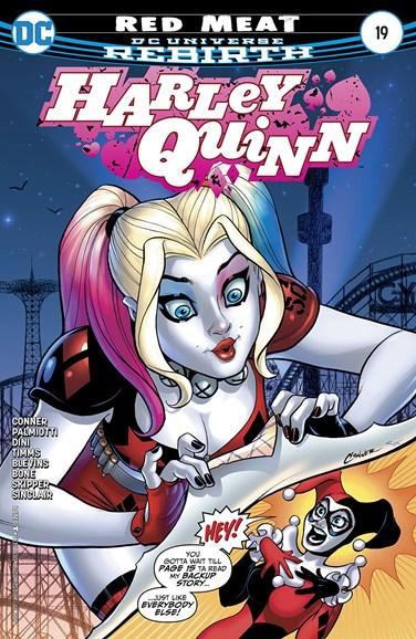 Harley Quinn Cover - 7/1/2017