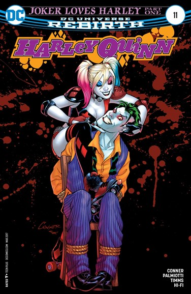 Harley Quinn Cover - 3/1/2017