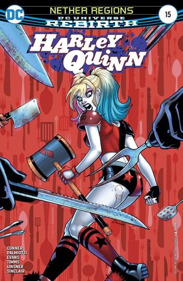 Harley Quinn Cover - 5/1/2017