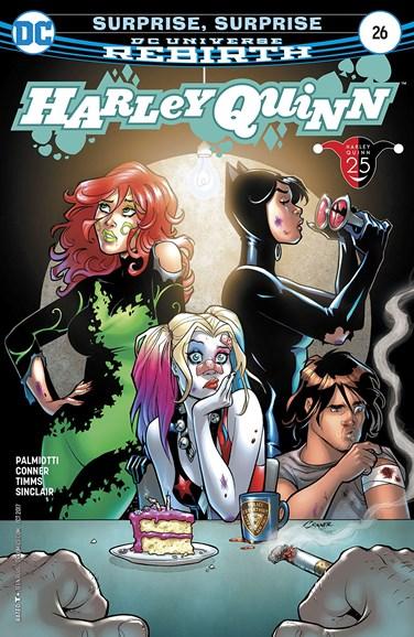 Harley Quinn Cover - 10/1/2017