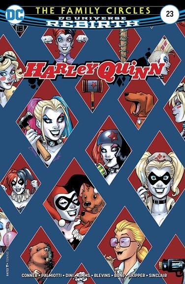 Harley Quinn Cover - 9/1/2017