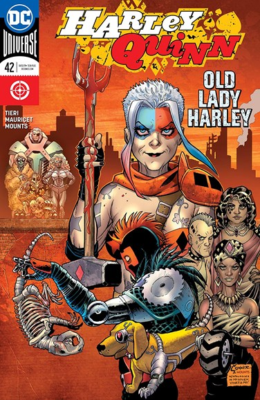 Harley Quinn Cover - 7/1/2018