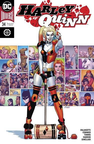 Harley Quinn Cover - 3/1/2018