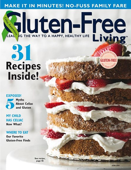Gluten-Free Living Cover - 5/1/2018