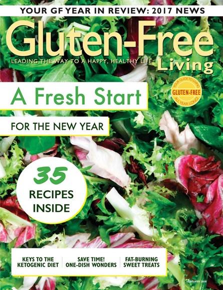 Gluten-Free Living Cover - 1/1/2018