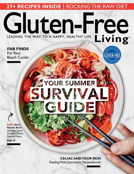 Gluten-Free Living Cover - 7/1/2017