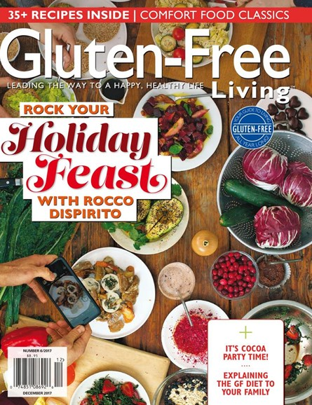 Gluten-Free Living Cover - 11/1/2017