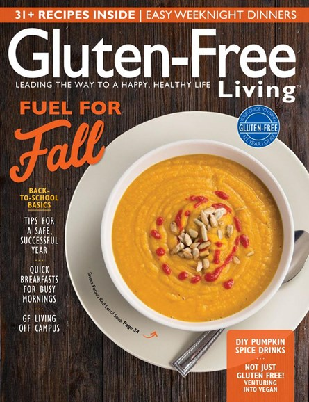 Gluten-Free Living Cover - 9/1/2017