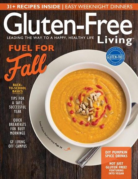 Gluten-Free Living Cover - 9/1/2017