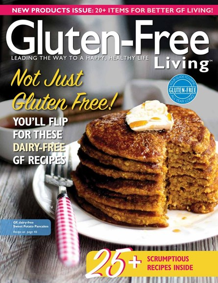 Gluten-Free Living Cover - 3/1/2017