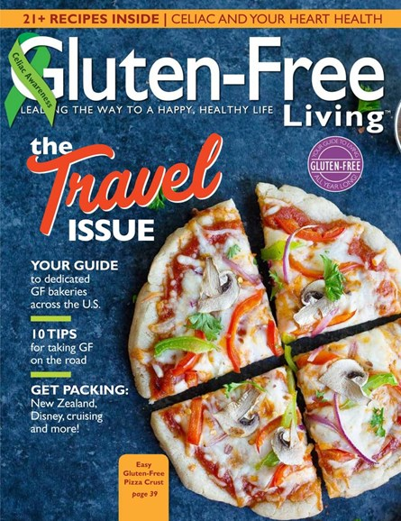 Gluten-Free Living Cover - 5/1/2017