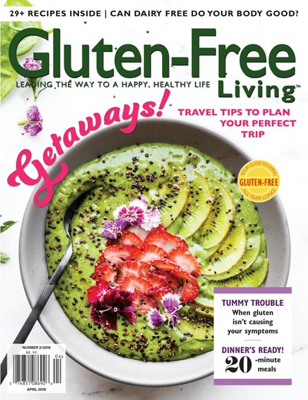Gluten-Free Living Cover - 3/1/2018