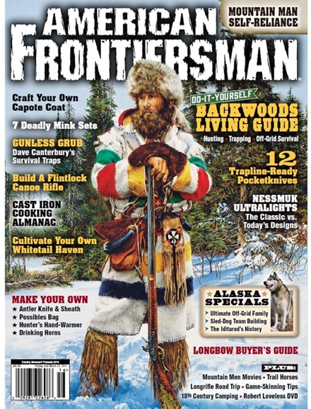 American Frontiersman Cover - 1/1/2017