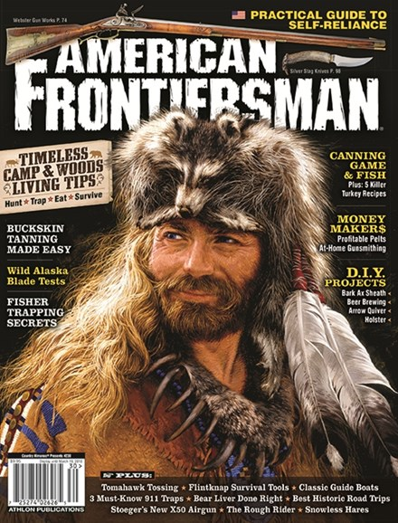 American Frontiersman Cover - 1/1/2018