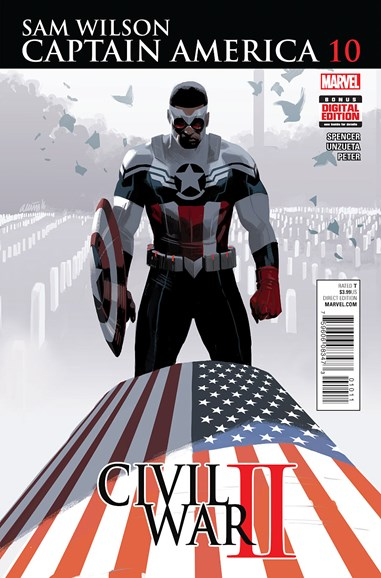 Captain America Cover - 8/1/2016