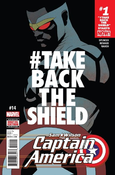 Captain America Cover - 12/1/2016