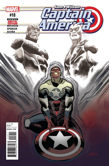 Captain America Cover - 3/15/2017