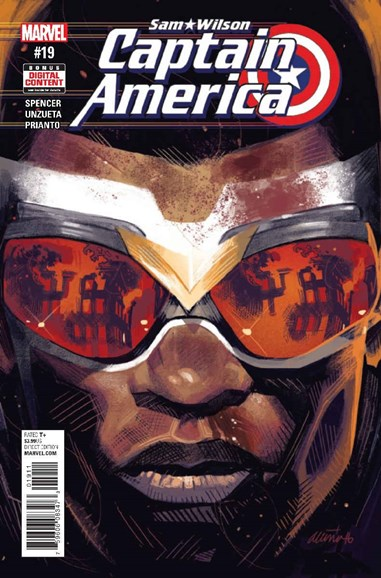 Captain America Cover - 4/1/2017