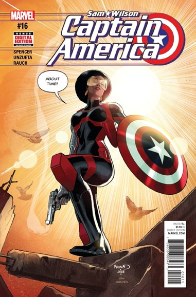 Captain America Cover - 2/1/2017
