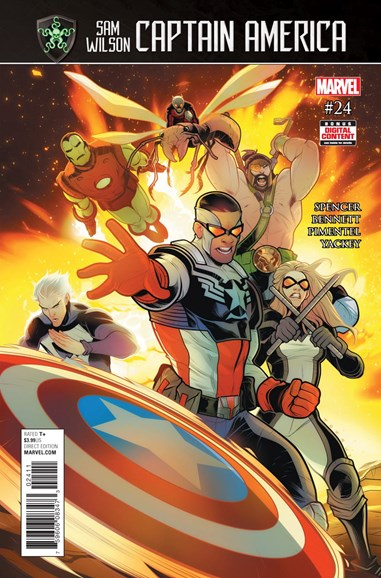 Captain America Cover - 9/1/2017