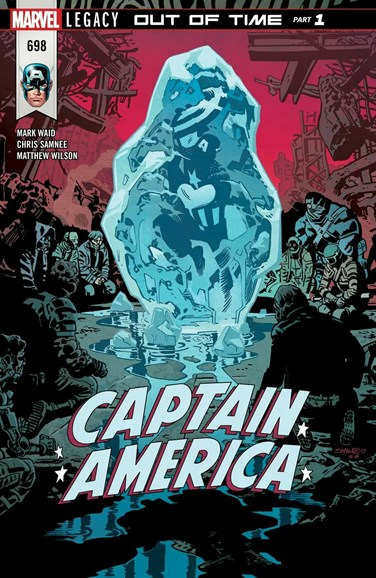 Captain America Cover - 4/1/2018