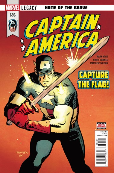 Captain America Cover - 2/1/2018